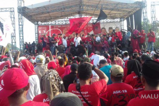 AGK/YA kampanye akbar di Ternate