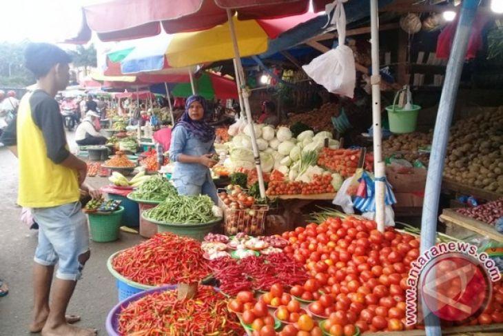 Harga sayuran di Ambon  bertahan