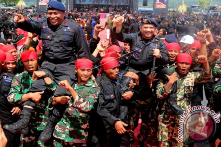 Kapolri: Brimob Masih Diperlukan Sebagai Postur Paramiliter