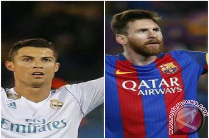 Ronaldo Ungguli Messi di Ballon d' Or Kelimanya