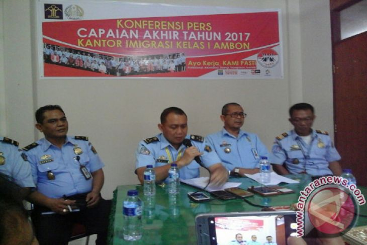 Imigrasi Ambon proses paspor calhaj asal Bursel