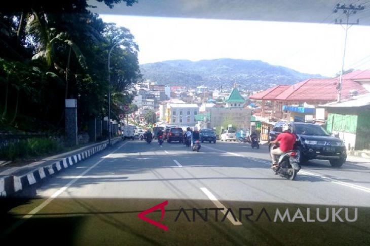 Dishub - Ditlantas rekayasa lalu lintas di Ambon