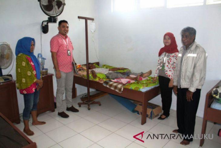 BPJS Ketenagakerjaan Ternate kunjungi korban kecelakaan