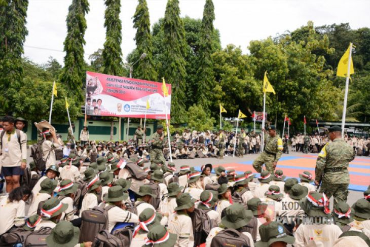 Pangdam: bela negara perkuat karakter kebangsaan