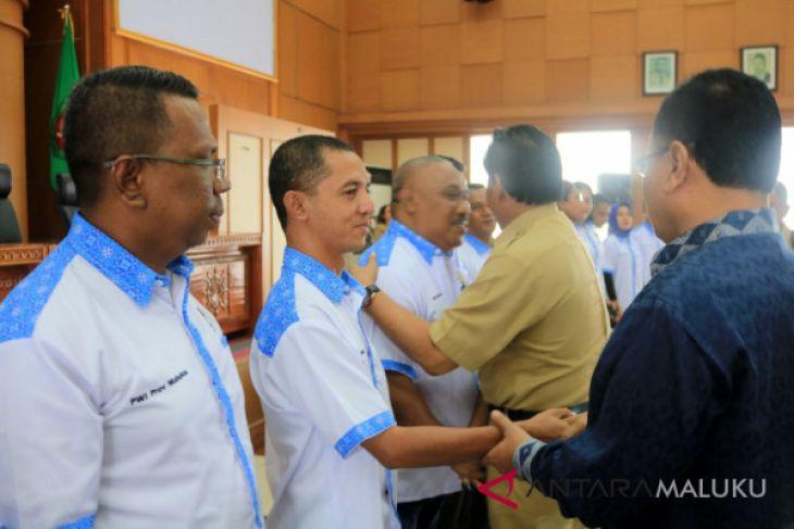 Pemprov Maluku harapkan PWI bersinergi majukan daerah
