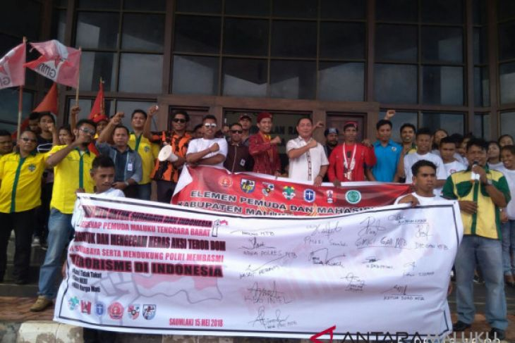 KNPI gelar aksi solidaritas