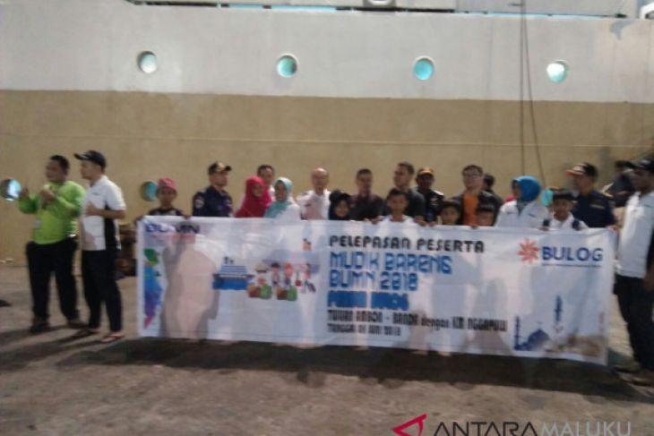 700 penumpang mudik gratis berangkat ke Banda