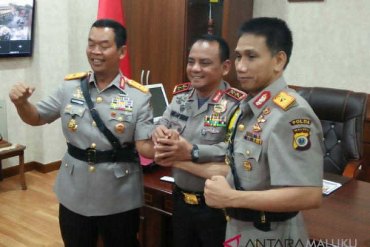 Kapolda Maluku lantik Brigjen Wiyagus sebagai Wakapolda