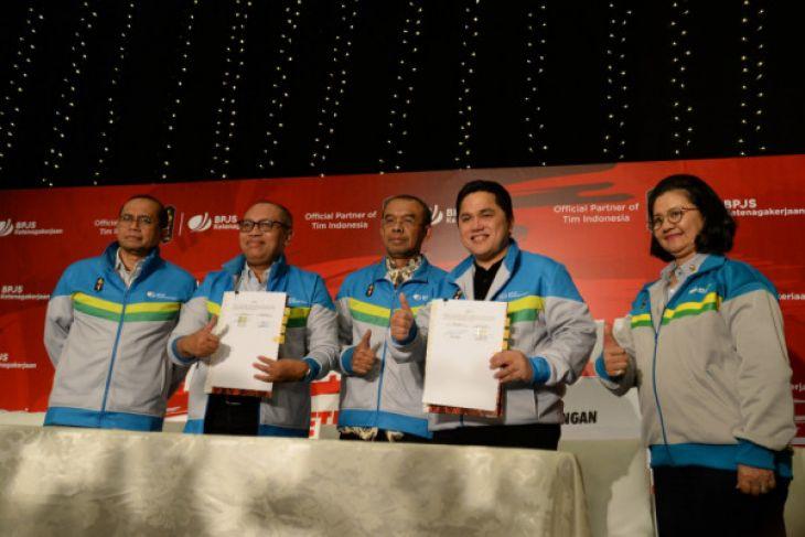 BPJS Ketenagakerjaan Dukung Tim Indonesia di Asian Games