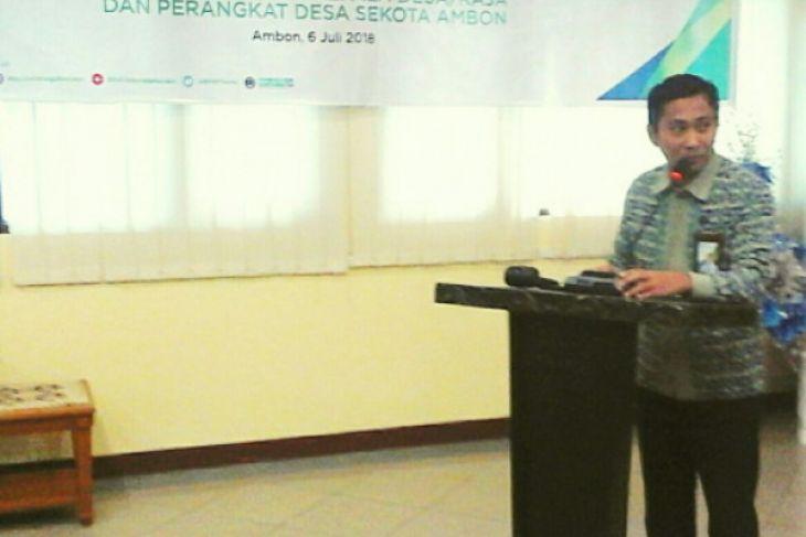 BPJS Ketenagakerjaan  bentuk desa sadar di Ambon