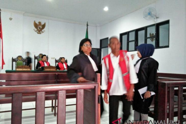 Pengadilan vonis kakek cabul empat tahun penjara