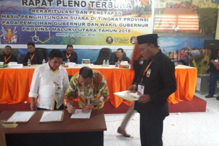 KPU Malut tunda penetapan pemenang Pilkada