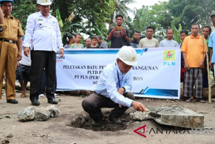PLN listriki tiga pulau di Banda
