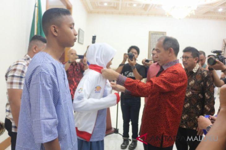 Gubernur Maluku luncurkan pengembangan pendidikan berbasis TI