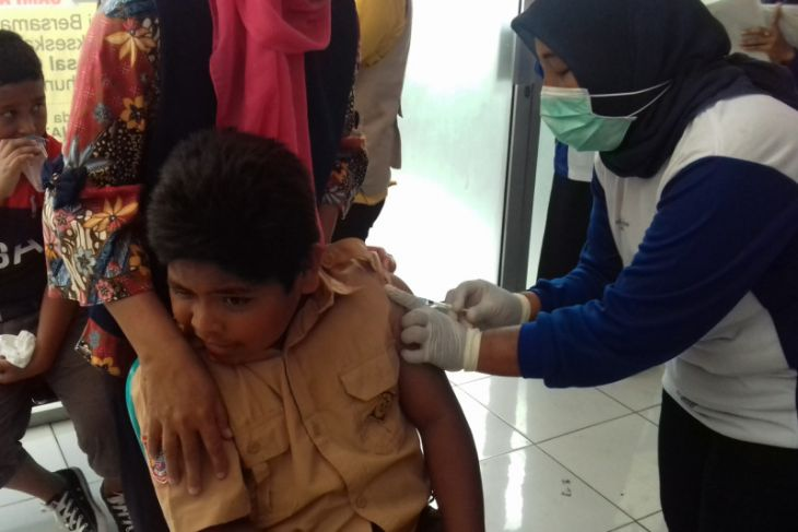 Kabupaten/kota di Malut perpanjang imunisasi MR