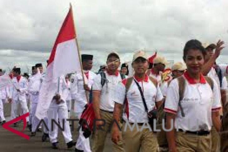 Kirab Pemuda Nusantara singgahi kota Ambon
