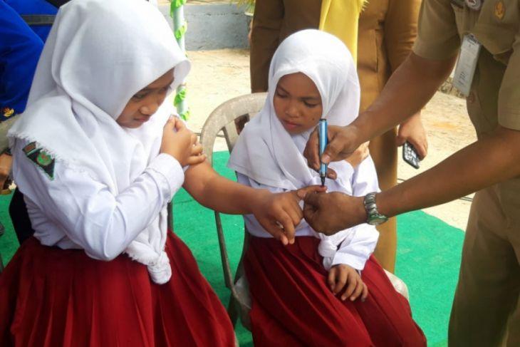 Imunisasi MR Ambon diperpanjang hingga Desember 2018