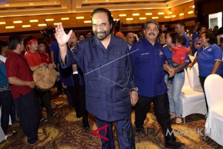 Surya Paloh: wajar Yusril jadi pengacara Jokowi/Ma`ruf