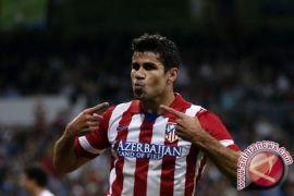 Hadapi Dortmund, Costa dan Savic siap perkuat Atletico Madrid