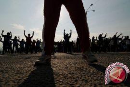 Dinkes Dorong Penerapan PHBS Melalui Senam Massal