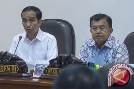 Presiden-Wapres hadiri rapat kerja percepatan pelaksanan berusaha