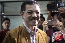 Gamawan Fauzi Tiba di Pengadilan Tipikor