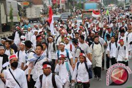 Massa Aksi 55 Padati Stasiun Juanda