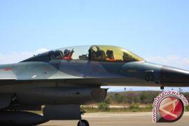 Empat Pesawat F-16 Hibah Datang Dari Amerika