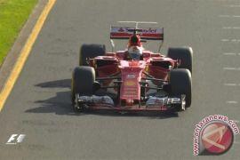 Sebastian Vettel dihukum setelah bertubrukan dengan Bottas