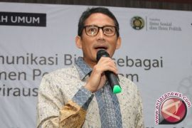 Sandiaga Uno datangi gedung KPK lapor harta kekayaan