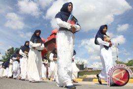 Ribuan Muslim Pontianak Pawai Ta'aruf Sambut Ramadhan