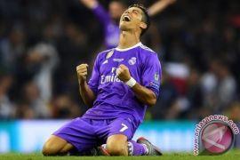 Ronaldo cetak gol saat Madrid imbang dengan Atletico