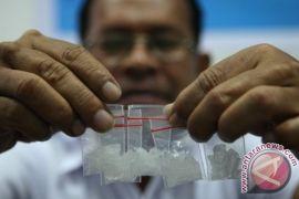 Buronan Palembang Dibekuk Polisi Sedang Isap Sabu-Sabu