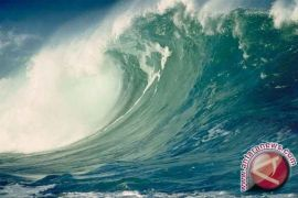 BMKG: gelombang Selatan Bangka capai 3,0 meter