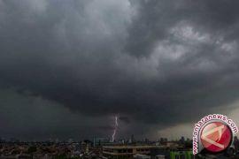 BMKG: Toboali dan Manggar Berpotensi Hujan Petir