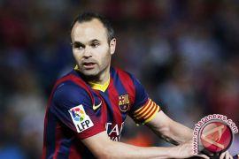 Barcelona menang atas Sociedad pada pertandingan perpisahan Iniesta