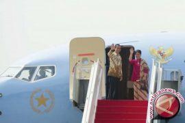 Presiden tiba kembali dari Australia-Selandia Baru