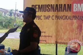 KPPBC Pangkalpinang Antisipasi Produk Ilegal Jelang Natal