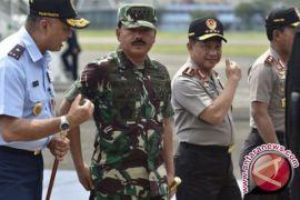 Kerja sama Polri-TNI tidak cukup hanya sebatas