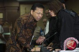 Majelis hakim pengadilan Tipikor tolak keberatan Setya Novanto
