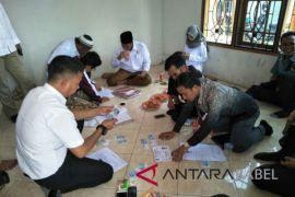 KPU Bangka Tengah verifikasi partai politik peserta Pemilu 2019
