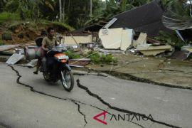 Gempa 4,1 skala Richter mengguncang Lombok Tengah