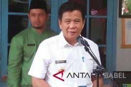Realisasi belanja daerah Bangka Tengah Rp772,329 miliar