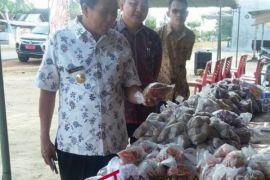 Pemkab Bangka Tengah gelar pasar murah sembako