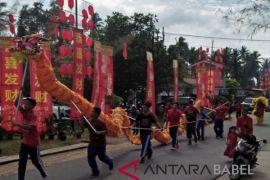 Rayakan Imlek warga Bangka gelar pesta rakyat