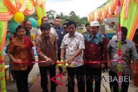 Bupati Bangka Tengah resmikan TK Mayora Indah