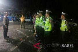 Polisi Bangka Barat tertibkan penghuni rumah kontrakan