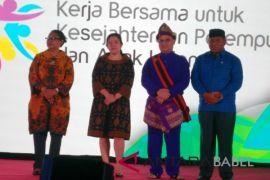 Menko PMK Puan Maharani buka Rakornas PPPA 2018
