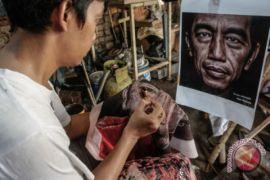 Batik bergambar Presiden Joko Widodo