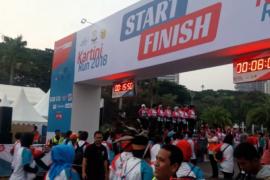 Ibu negara lepas lomba Kartini Run 2018